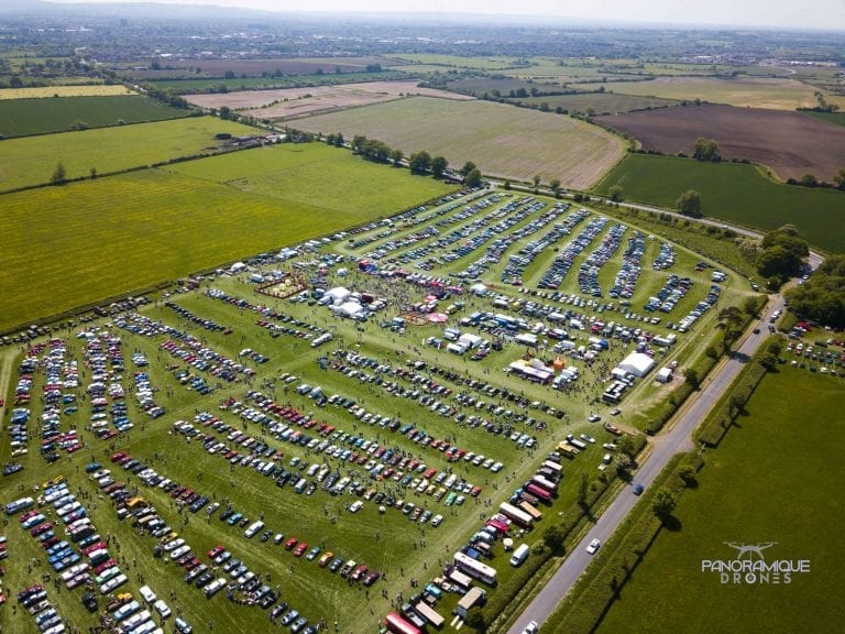 An Aerial Picture of the Chiltern Hills Rally