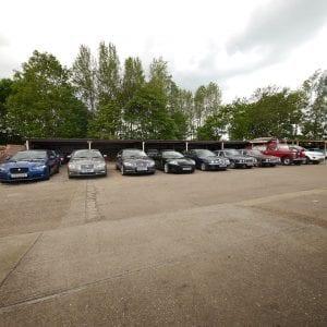 Jaguar Land Rovers at AJF