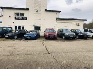 Jaguar Land Rover at AJF